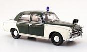 Peugeot 403 miniature Berline police saarbrucken 1959
