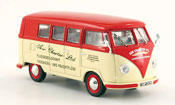 Volkswagen Combi   t1a bus air charter ltd. white red 1958 Norev