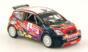Citroen C2 miniature S1600 no.1 red bul rallye du var 2008