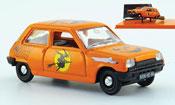 Renault 5   orange halloween 1972 Norev 1/43