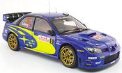 Subaru Impreza WRC  no.5 solberg mills,rallye monte carlo 2008 Autoart 1/18