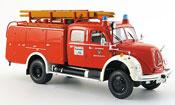 Magirus TLF 16 Merkur A vigile del fuoco Bayreuth 1957