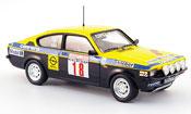 Opel Kadett GT miniature e no.18 conrero elby rallye 1977