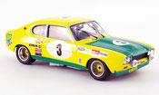 Ford Capri miniature 2600 RS No.3 Zweiter Platz 24H Spa 1972