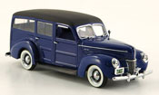 Ford 1940 V8 De Luxe Woody blue 1940
