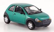 Ford Ka miniature verte 1997