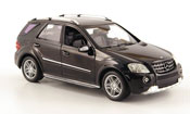 Mercedes Classe M ML 63 AMG (W 164) black 2008