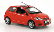 Toyota Yaris miniature ts rouge 2001