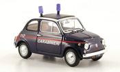Fiat 500 Carabinieri italienische police 1965