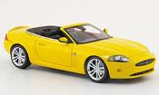 Jaguar XK Cabriolet giallo 2008