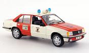 Opel Rekord   e pompier wuppertal rouge blanche Schuco