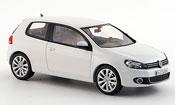 Volkswagen Golf VI white 3 portes concept white