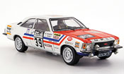 Opel Commodore B miniature gs e no.39 rallye england 1973