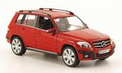 Mercedes Classe GLK miniature Offroad  rouge 2008