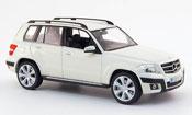 Mercedes Classe GLK miniature Offroad blanche 2008
