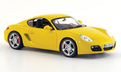 Porsche Cayman S yellow 2008