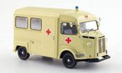 Citroen Type HY miniature bus rougees kreuz