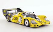Porsche 956 1983 miniature No.12 Newman WEC Japan