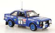 Miniature Ford Escort MK2  RS No.1 Rally England Mikkola 1979