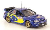 Miniature Subaru Impreza WRC  07 no.5 rallye monte carlo 2008