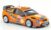 Miniature Rallye Ford Focus RS WRC 07 No.14 Expert Rally Monte Carlo 2008