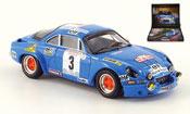 Renault Alpine A110  no.3 gitanes rallye korsika 1974 Trofeu 1/43