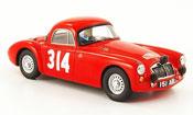 MG A A No.314 Rally Monte Carlo 1962