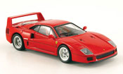 Ferrari F40 miniature rouge
