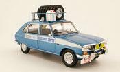 Renault 16   assistance course avec pneus et bidon essance 1968 Norev 1/18