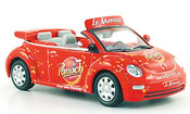 Miniature Tour de France Volkswagen New Beetle cabrio panach monaco tour de france 2009