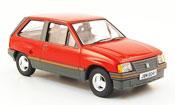 Opel Nova miniature 1.3 SR rouge