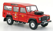 Land Rover Defender miniature Station rouge Royal Mail Glenshee 1993