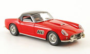 Ferrari 250 GT 1960 california  lwb hardtop rosso nero