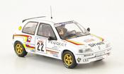 Peugeot 106 miniature XSI No.22 Peugeot Sport Rally Corse 1993 Panizzi