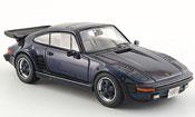 Porsche 930 Turbo SE Flatnose blu 1987