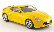 Nissan 370Z miniature Fairlady Z jaune 2008