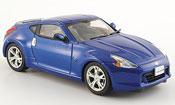 Nissan 370Z miniature Fairlady Z bleu 2008