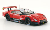 Nissan Skyline miniature R35 GT R No.3 Hasemi Tomica Super GT 500 2009