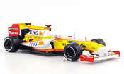 Miniature Renault F1   r 29 no.7 ing f.alonso 2009