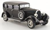 Bugatti 46 miniature limousine noire 1930
