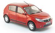 Miniature Renault Dacia Sandero  rouge 2008