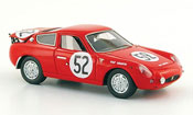 Fiat 700 Abarth S No.52 Demetz Bianchi 24h Le Mans 1962