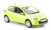 Renault Clio   verte 2009 Norev 1/43
