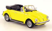 Miniature Volkswagen Coccinelle   1303 cabriolet jaune 1974
