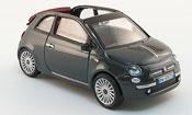Fiat 500 C Cabriolet grey 2009