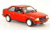 Ford Escort XR3 i rosso 1982 MK3