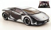 Lamborghini Gallardo LP560-4  noire avec schneespuren 2008 Minichamps 1/43