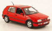 Miniature Volkswagen Golf III GTI  rouge 1993