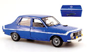 Renault 12 Gordini  bleu in blechbox Solido