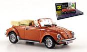 Volkswagen Coccinelle convertible met brown angie und guido
